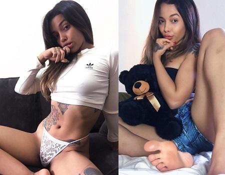 Gleizz Maciel Nua Tatuada gostosa em fotos porno