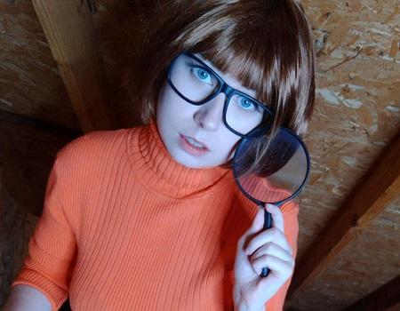 Velma cosplay +18 - Usatame