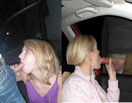 Mulheres chupando no carro fotos