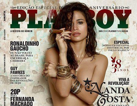 Nanda Costa Pelada na Playboy