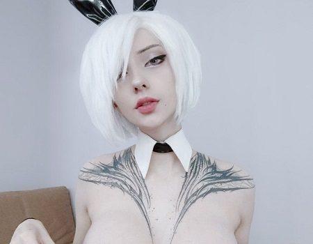 Alin Ma XenonCos Nude 2B Cosplay