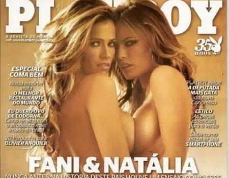 Fani Pacheco e Natalia Casassola Nuas na PlayBoy